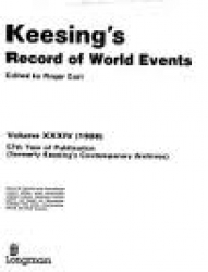 Keesings Record of world events