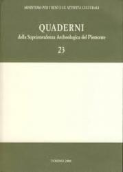 Quaderni della Soprintendenza archeologica del Piemonte