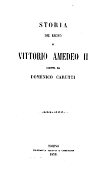 Storia del regno di Vittorio Amedeo 2.