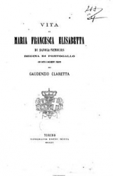 Vita di Maria Francesca Elisabetta di Savoia-Nemours, regina di Portogallo