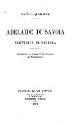 Adelaide di Savoia elettrice di Baviera