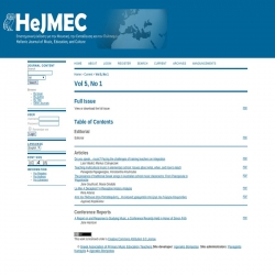 Hellenic Journal of Music, Education and Culture