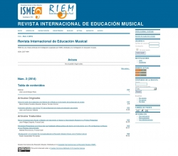 Revista Internacional de Educación Musical