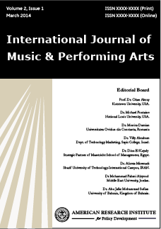International Journal of Music and Performing Arts