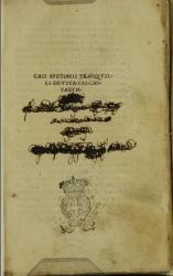 Caii Suetonii Tranquilli De vita 12 Caesarum