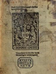 Pauli Orosii historiographi clarissimi Opus prestantissimum