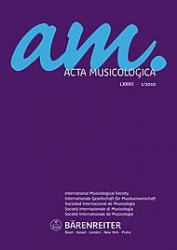 Acta musicologica