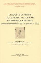 L' enquête générale de Leopardo da Foligno en Provence centrale