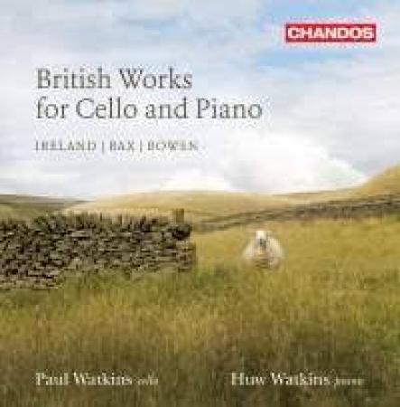 British works for cello and piano, volume 2