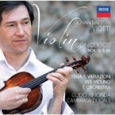 Violin concertos nos. 12 & 25
