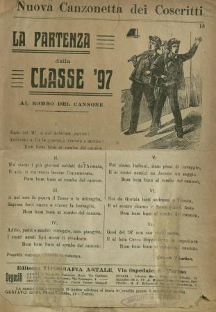La partenza della classe '97