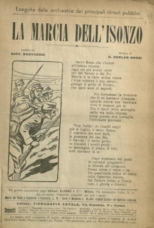 La Marcia dell'Isonzo