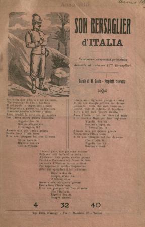 Son bersaglier d'Italia