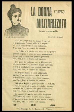 La donna militarizzata