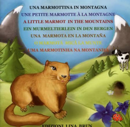 Una marmottina in montagna