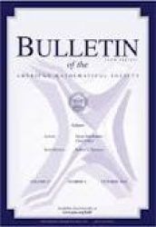 Bulletin of the American mathematical society (new series)