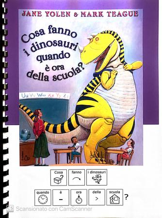 Cosa fanno i dinosauri quando è ora della scuola?