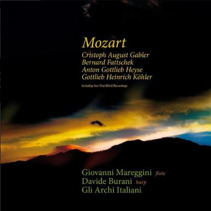 Mozart, Cristoph August Gabler, Bernard Fattschek, Anton Gottlieb Heyse, Gottlieb Heinrich Köhler