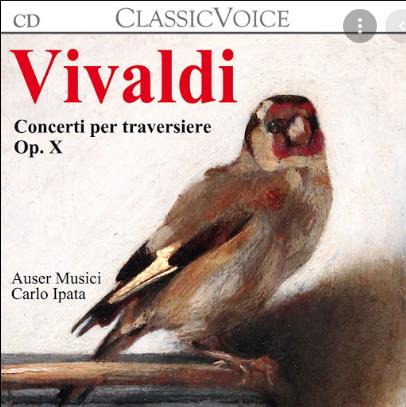 Concerti per traversiere  Op. 10