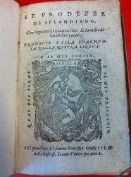 Le prodezze di Splandiano, che seguono à i quattro libri di Amadis di Gaula suo padre. Tradotte dalla spagnuola nella nostra lingua