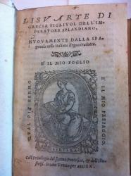 Lisuarte di Grecia figliuol dell'imperatore Splandiano, nuouamente dalla spagnuola nella italiana lingua tradotto